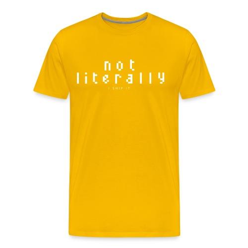 nlishipitlogotrans2 - Men's Premium T-Shirt