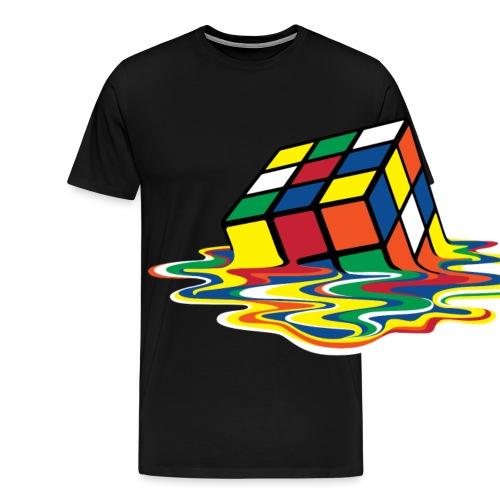 meltingcube - Men's Premium T-Shirt