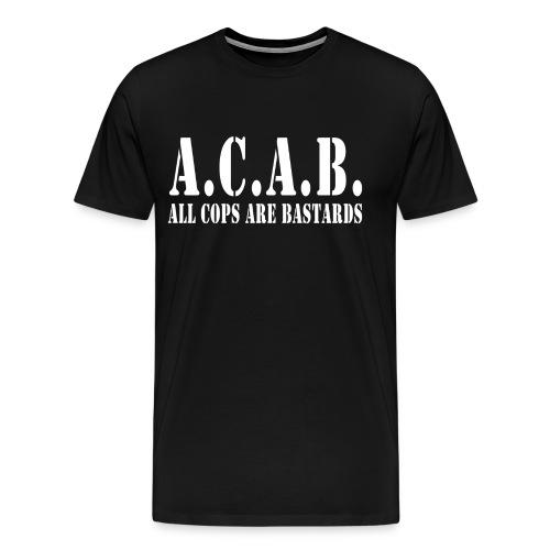 acab army - Men's Premium T-Shirt