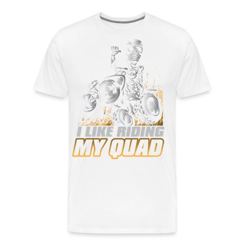 ATV Quad Like Stunt Rider - Men's Premium T-Shirt