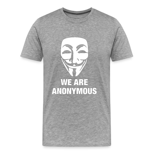 we are anonymous - Men's Premium T-Shirt