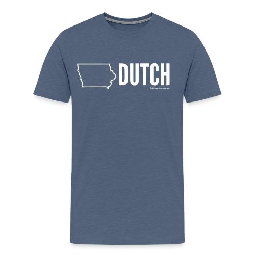 Iowa Dutch (white) - Men's Premium T-Shirt