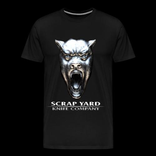 Scrap Yard Light Text - Men's Premium T-Shirt