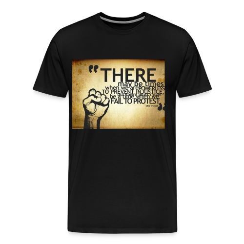 there may be times when we are powerless - Men's Premium T-Shirt