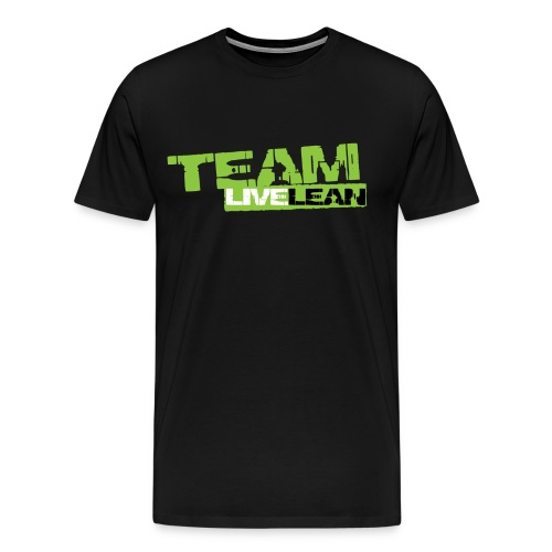 team live lean logo 01 6 png - Men's Premium T-Shirt