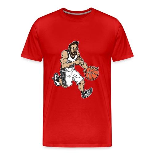 Wally McGee Home Spurs Te - Men's Premium T-Shirt