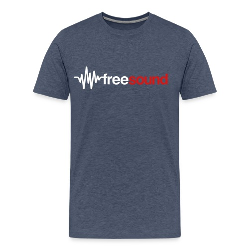 freesound logo tshirt - Men's Premium T-Shirt