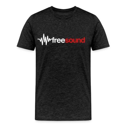 freesound logo tshirt - Men's Premium T-Shirt
