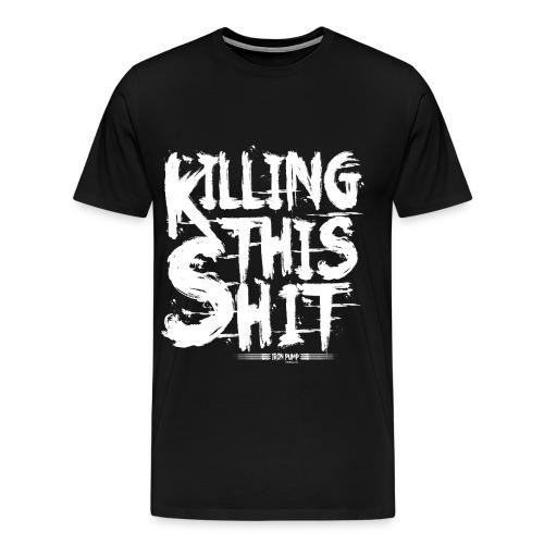 for black t shirts 2 png - Men's Premium T-Shirt