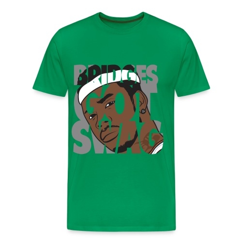 Men's Hoodie - #BridgesGotSwag - Men's Premium T-Shirt