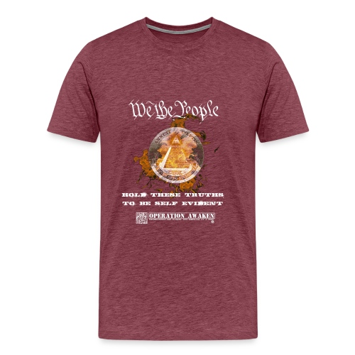 we the people png - Men's Premium T-Shirt