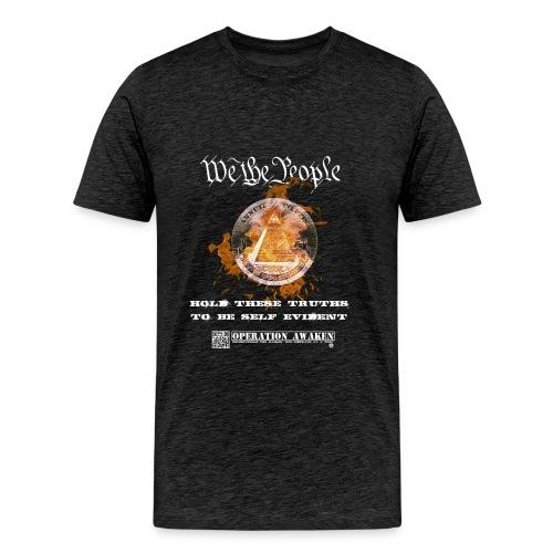 we the people png - Men's Premium T-Shirt
