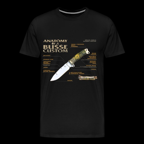 Anatomy of a Busse Custom - Men's Premium T-Shirt