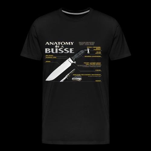 Anatomy of a Busse - Men's Premium T-Shirt