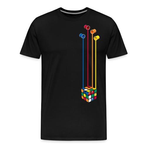 Paint Cube - Men's Premium T-Shirt