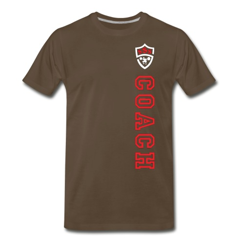 *** ONLY FOR OFFICIAL COACHES *** - Men's Premium T-Shirt