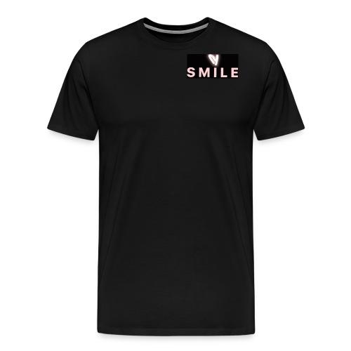 Happiness smile love bright cool good soft merch : - Men's Premium T-Shirt