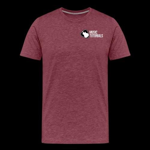 Music Tutorials Logo - Men's Premium T-Shirt