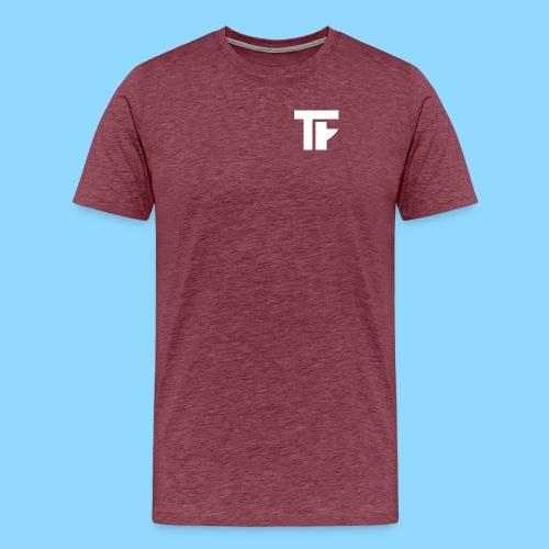 Team Friction Monogram Logo Patch - Men's Premium T-Shirt