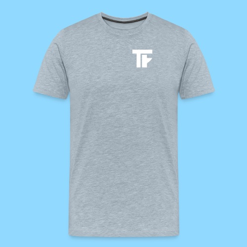 Team Friction Monogram Logo Patch - Men's Premium T-Shirt