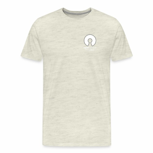 osi_greyscale_logo_transp - Men's Premium T-Shirt