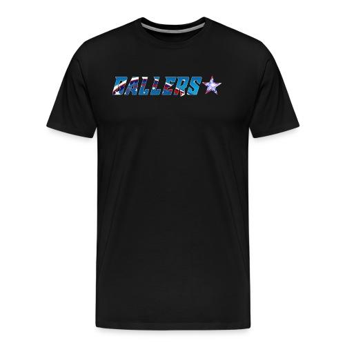 Ballers Lacrosse Team Collection - Men's Premium T-Shirt
