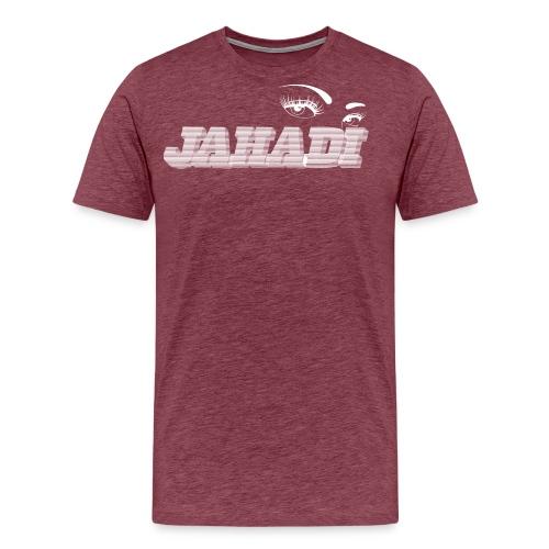 hadilogoWHITE - Men's Premium T-Shirt