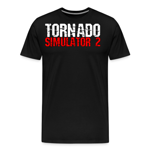 Tornado Simulator 2 T-Shirt - Men's Premium T-Shirt