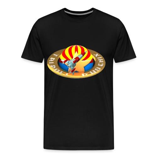 trap logo png - Men's Premium T-Shirt