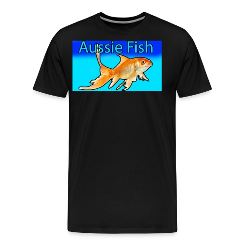 aussie fish - Men's Premium T-Shirt