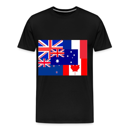 Flags - Men's Premium T-Shirt