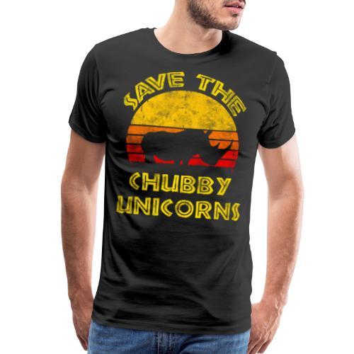 Save The Chubby Unicorns 2019 - Men's Premium T-Shirt