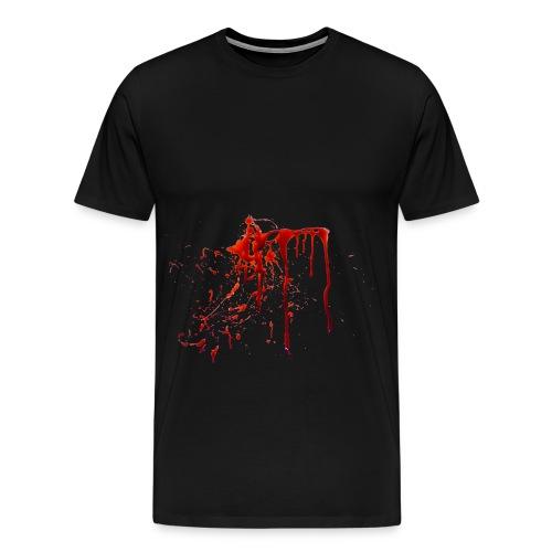 blood - Men's Premium T-Shirt