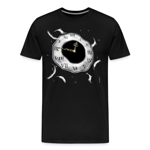 When The Angels Call Your Time - Men's Premium T-Shirt