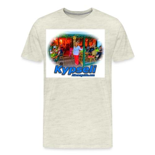 Kypseli Foibos jpg - Men's Premium T-Shirt