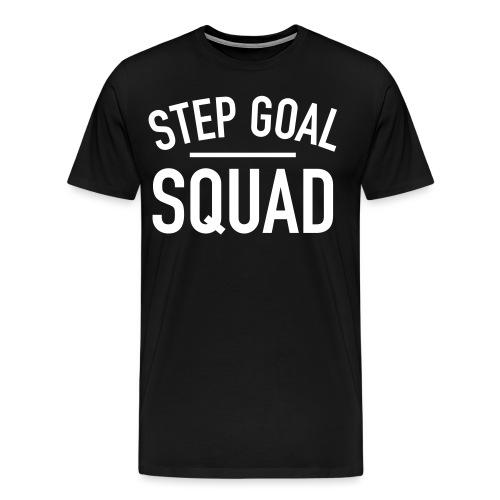 Step Goal Squad Simple - Men's Premium T-Shirt