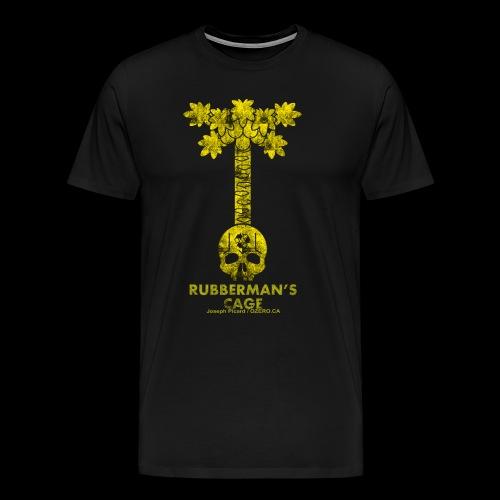 Rubberman's Cage- Papaya tree - Men's Premium T-Shirt