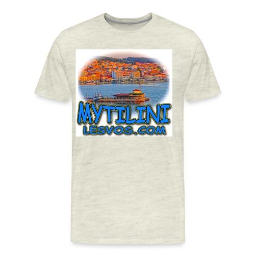 LESVOS MYTILINI 2B jpg - Men's Premium T-Shirt
