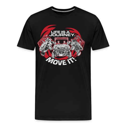UTV Racing Life Journey - Men's Premium T-Shirt