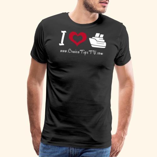 I love to cruise! - Men's Premium T-Shirt