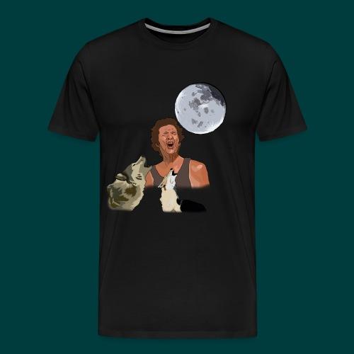 Bark at the moon - Men's Premium T-Shirt