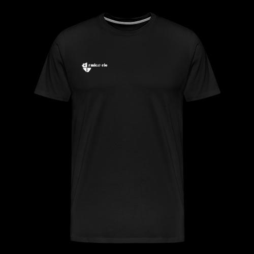 Mica Eio white logo - Men's Premium T-Shirt
