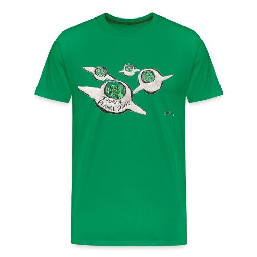 Tours of Planet Stupid - Men's Premium T-Shirt