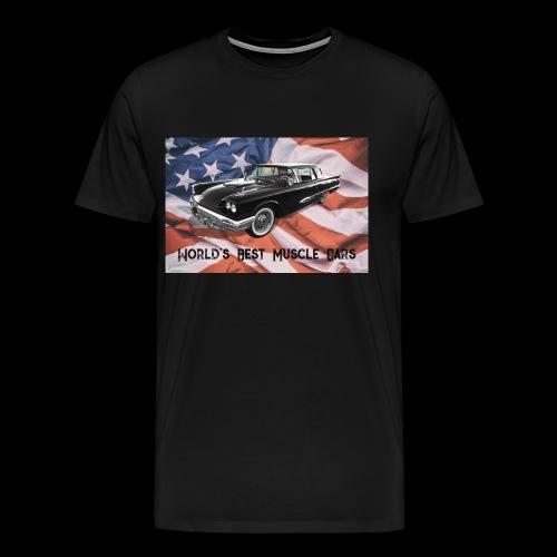 World's Best Muscle Cars - Men's Premium T-Shirt
