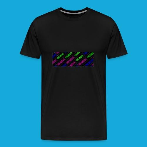 The Move logo box silhouette - Men's Premium T-Shirt