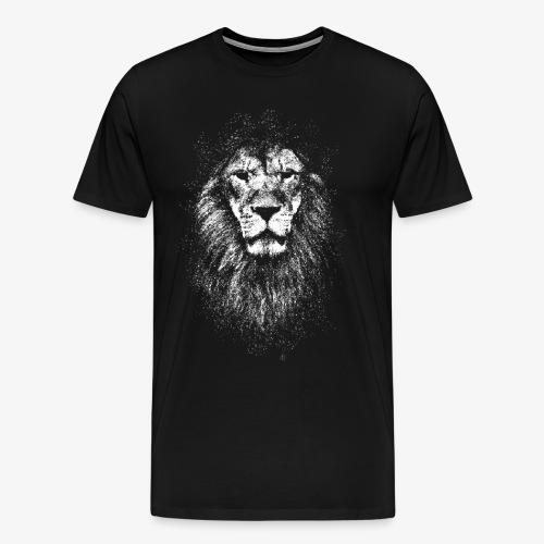white lion - Men's Premium T-Shirt