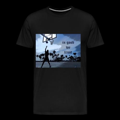 IN GOOD WE TRUST - Men's Premium T-Shirt