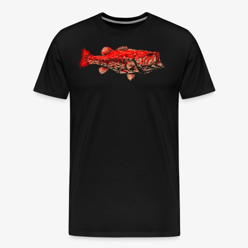 FIRE BASS - Men's Premium T-Shirt
