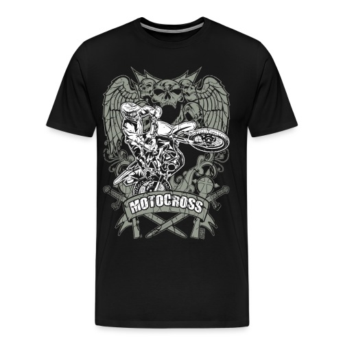 Dirt Bike Extreme Tattoo - Men's Premium T-Shirt