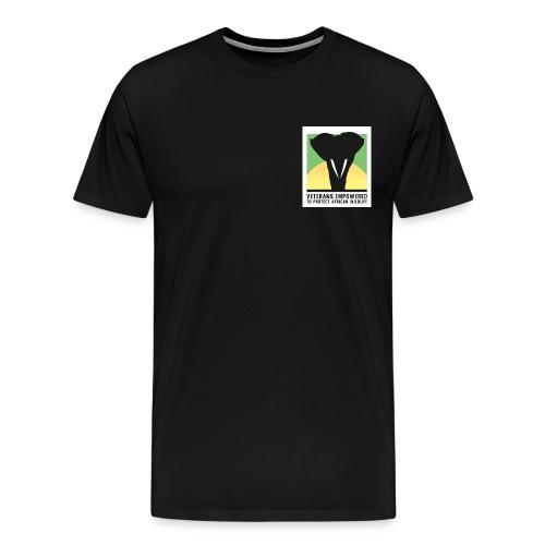 VETPAW Logo print jpg - Men's Premium T-Shirt